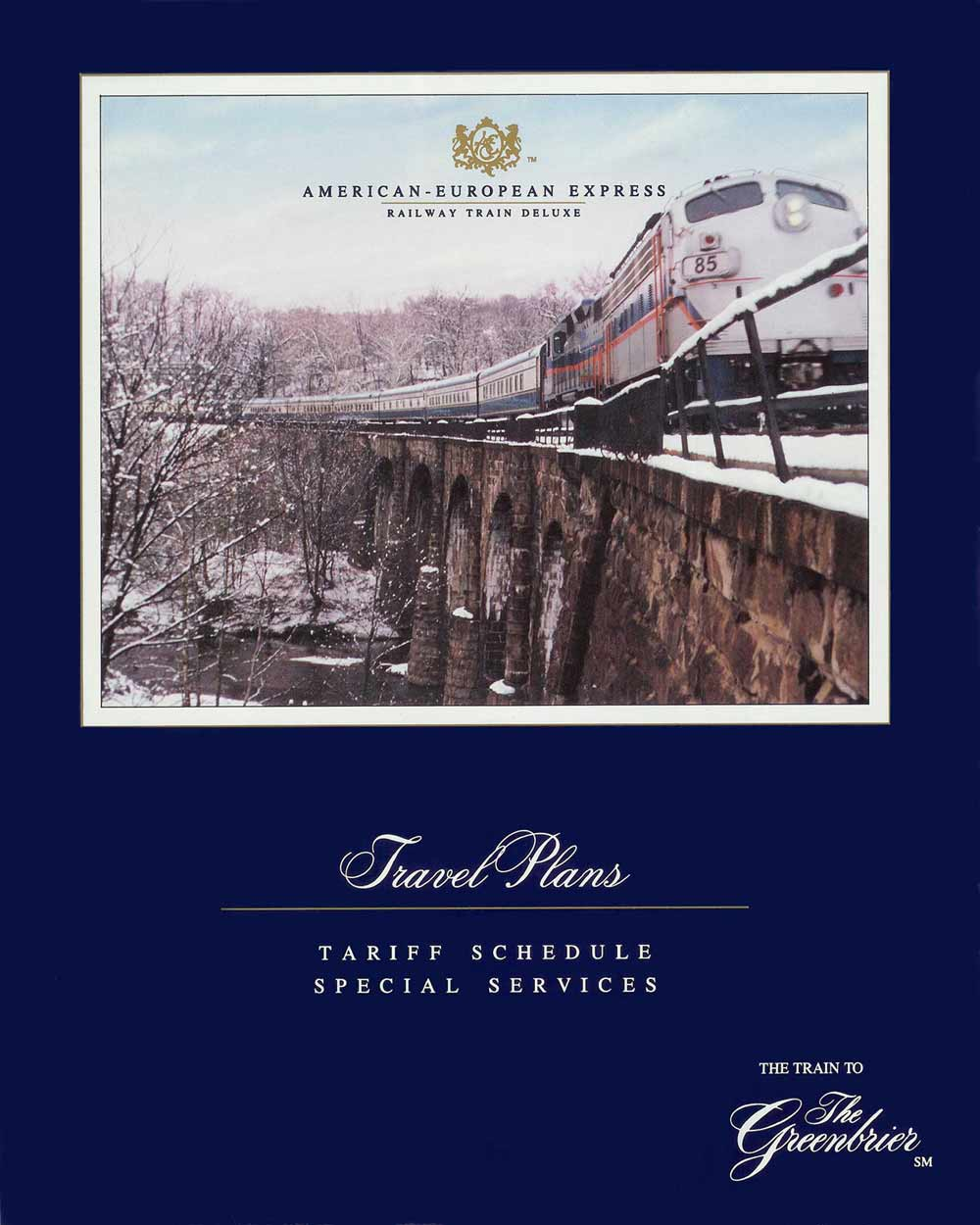 The 1989 - 2009 American-European Express / American Orient