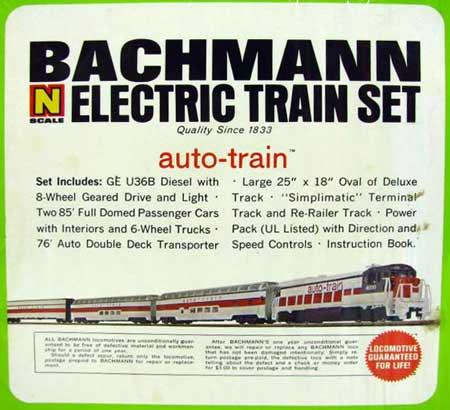 The 1971 - 1981 auto-train