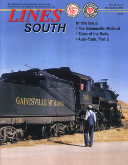 ACL & SAL Historical Society LINES SOUTH Vol 20 No 4