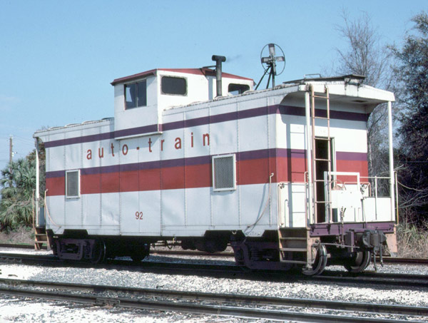Cabooses  Leading the industry in railroad equipment sales