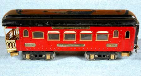 Ives 186 Observation Car 1929