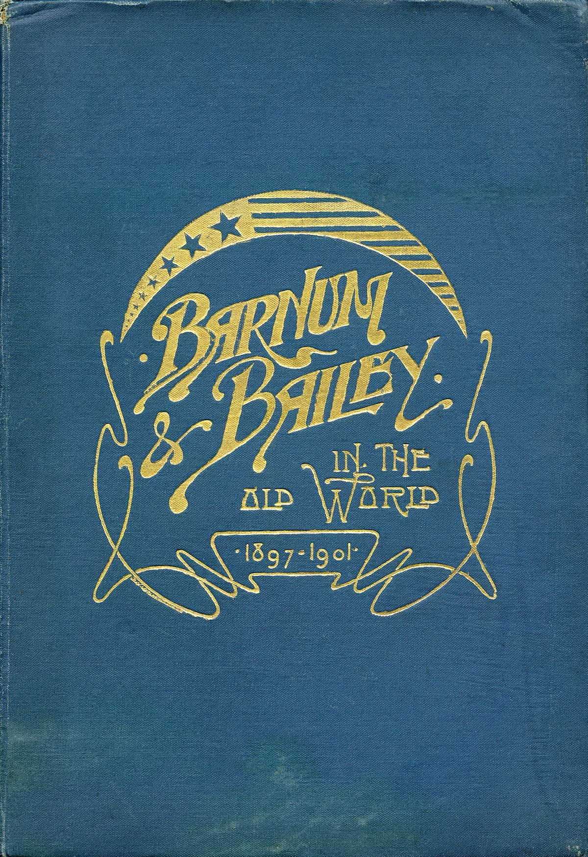 1890s Barnum /& Bailey Circus Train and Tents Poster 24x32