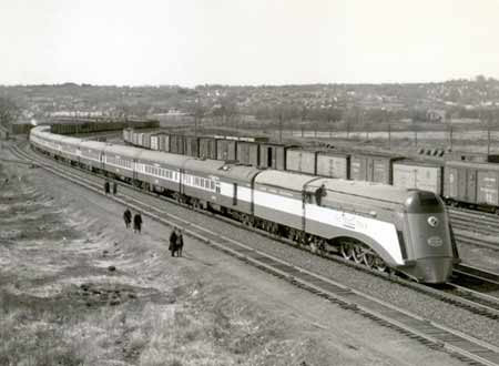 Photo of the Rexall Train of 1936
