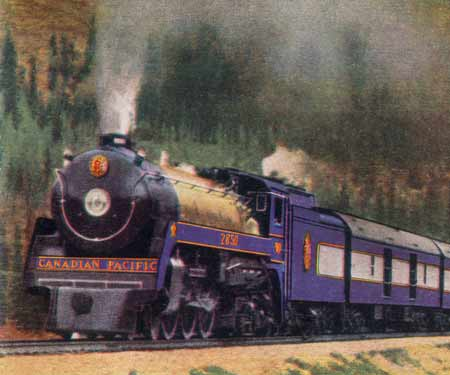 Photo of the 1939 Royal Train CP Royal Hudson 2850