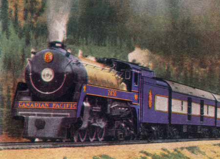 Photo of the 1939 Royal Train Royal Hudson Steam Locomotive 2850