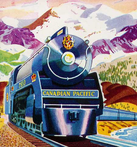 The 1939 Royal Train on the Royal Tour of Canada