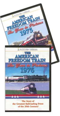 Picture of the American Freedom Train: The Year in Pictures 1975 & 1976 by Accuen