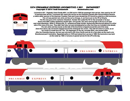Preamble Express Decals by Accuen